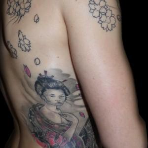 tattoo Jaca Geisha