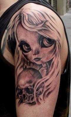 Tattoo en progreso