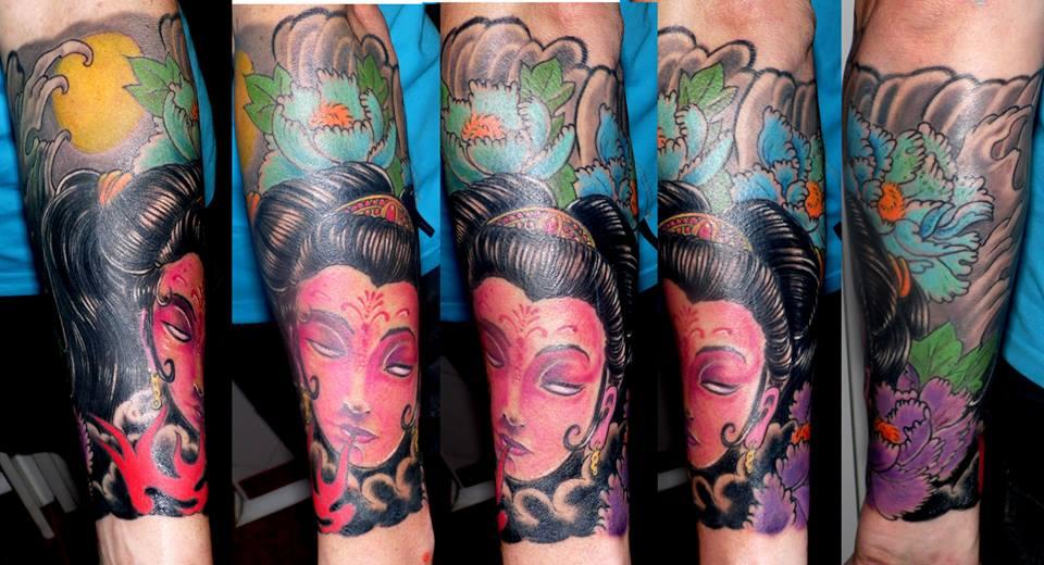 tatuajes huesca, tattoo japones, tattoos jaca