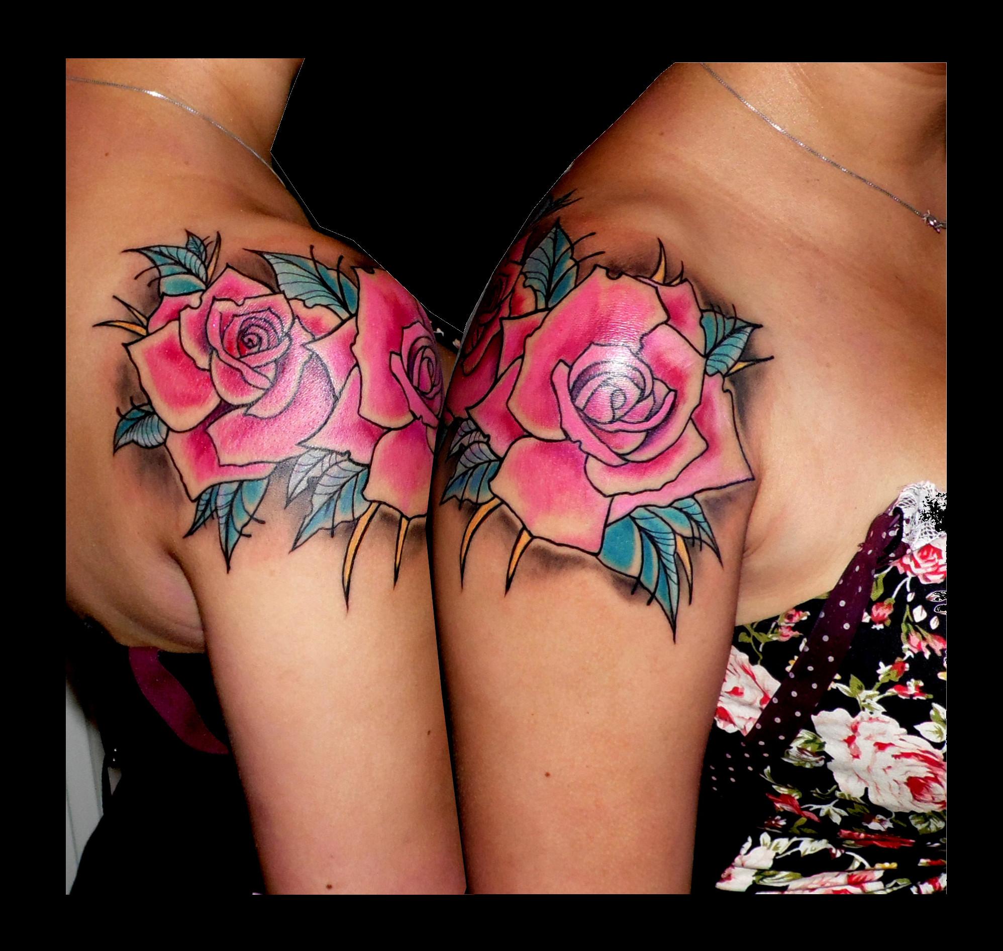 Rosas a color