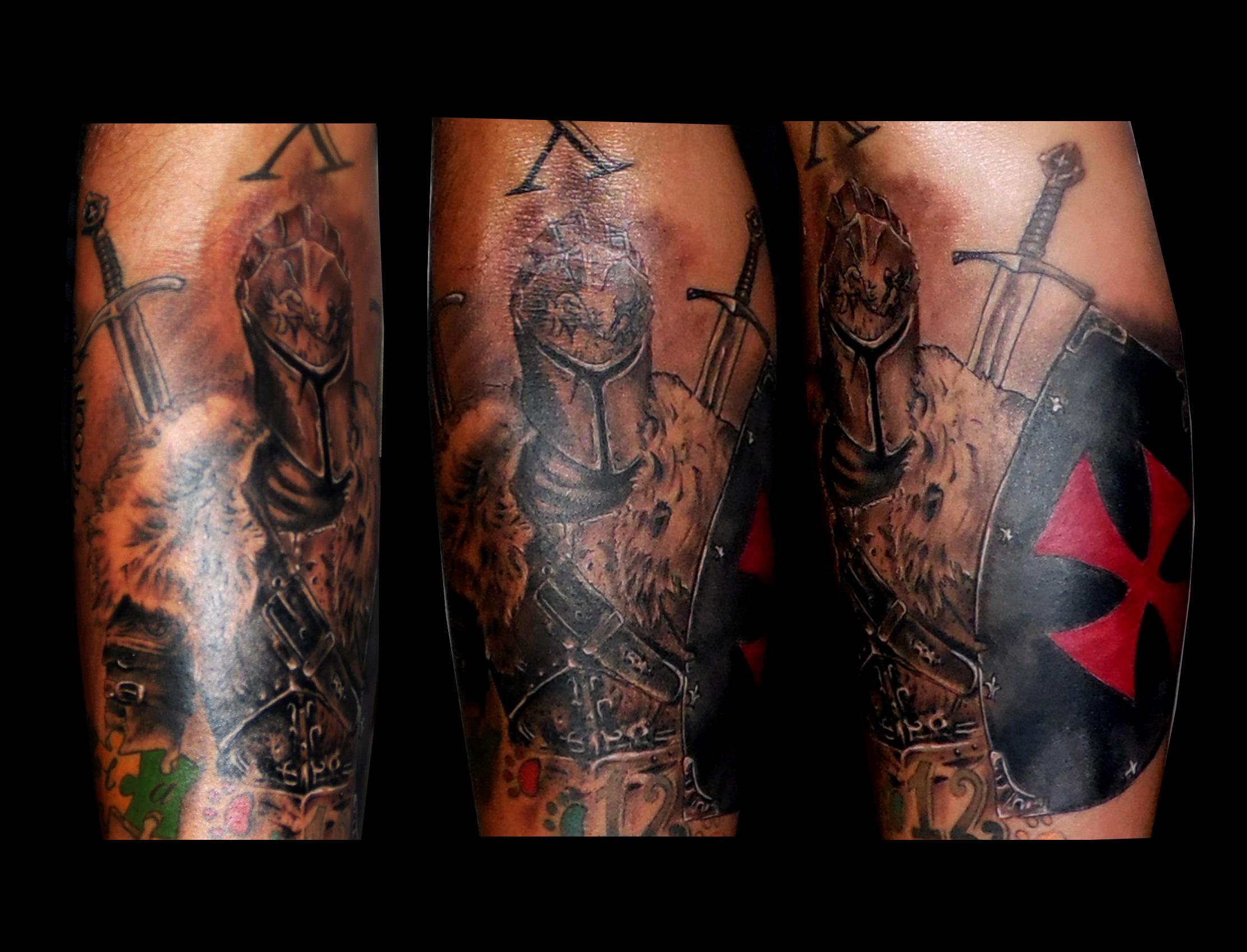 tattoos huesca,tatuajes huesca,tattoo medieval