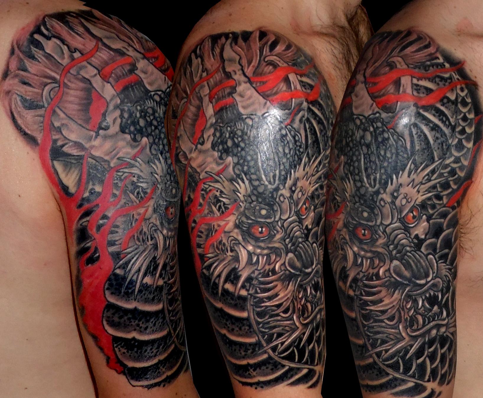 Tattoo Brazo Hombre Japones tatuajes brazo japones