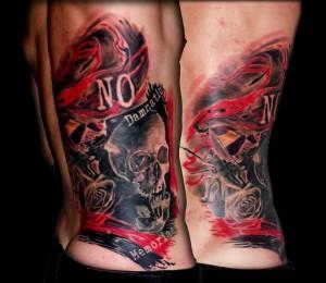 Polka Trash Tattoo 13 de Picas