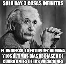 Einstein vacaciones
