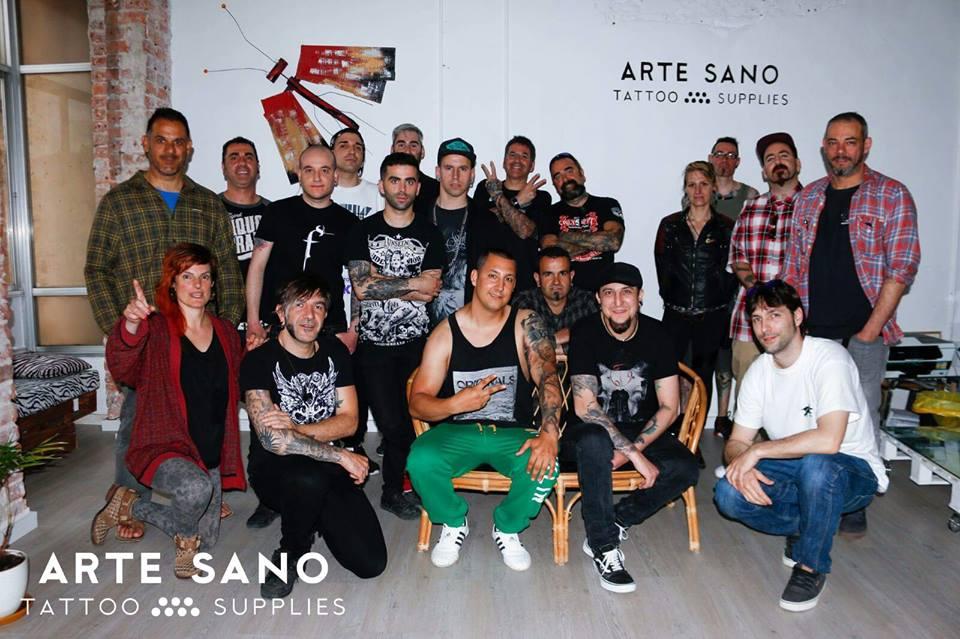 Curso Realismo ArteSano Tattoo Bilbao Dani Martos