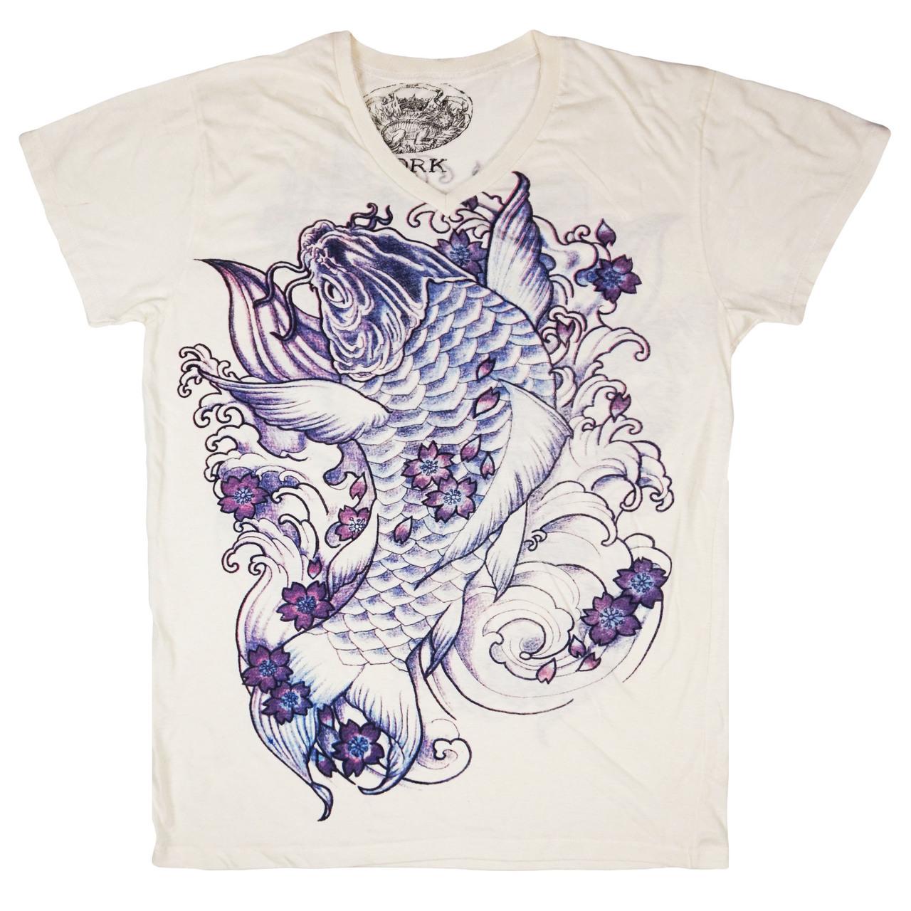 camiseta tatuaje japonés koi imágenes tattoo 13depicas