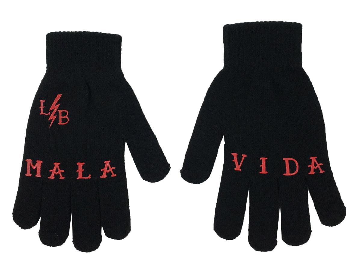 guantes mala vida rayo negros 13depicas