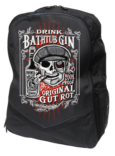 mochila calavera gin negra 13depicas