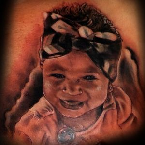 tatuaje retrato tattoo realista foto blanco negro 13depicas