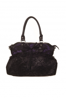 Bolso lazo puntilla Banned gótico gothic bag ropa tattoo clothing online 13depicas