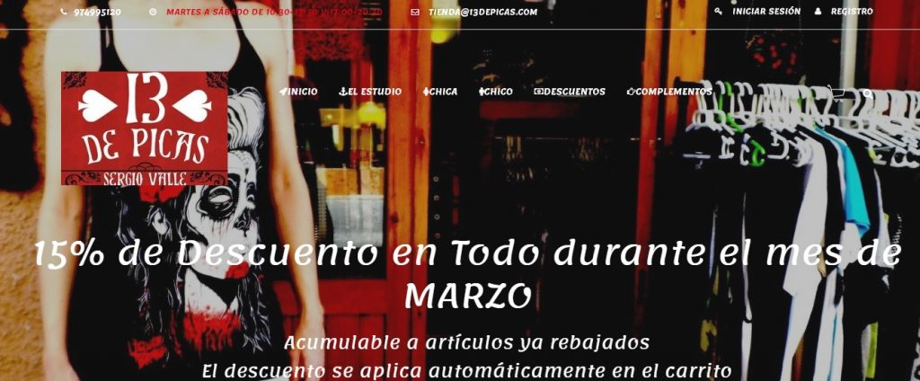 Descuento Ropa Online Tattoo