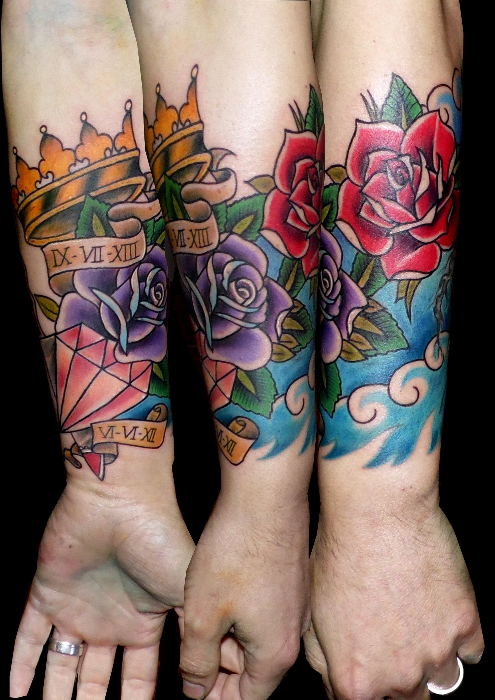 Galer a de tattoos tattoo piercing - Tattoo disenos a color ...