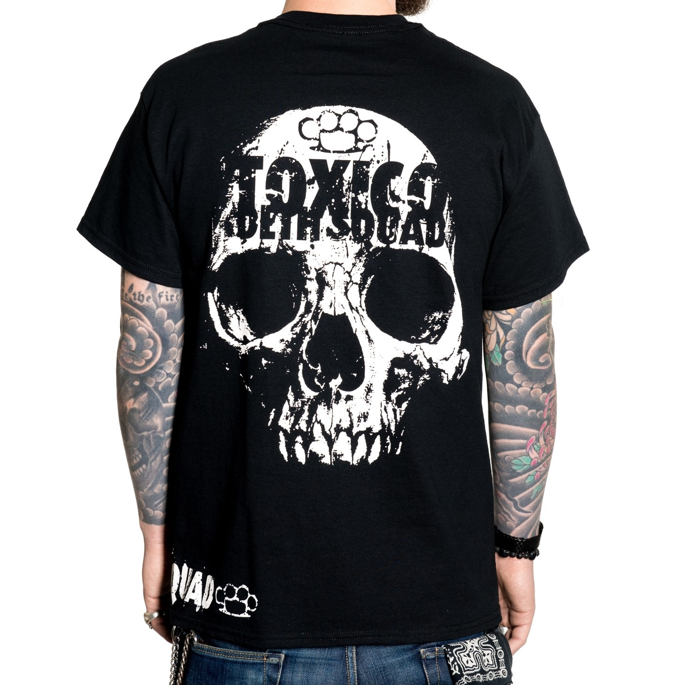 camiseta ropa calaveras rock tattoo style alternativa gotica 13depicas online custom
