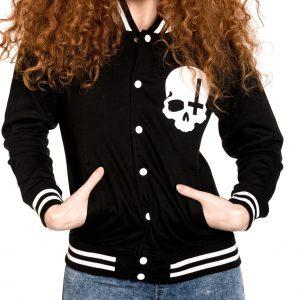 ropa sudadera calaveras tattoo style alternativa rock gotica online 13depicas chaqueta universitaria