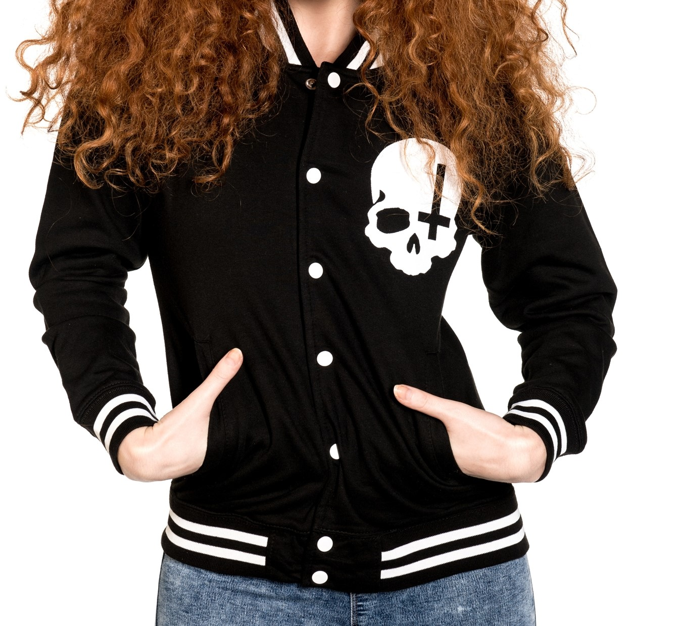 ropa sudadera calaveras tattoo style alternativa rock gotica online 13depicas chaqueta universitaria