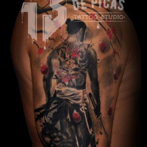 Galeria De Tattoos 13depicascomstudio Tattoopiercingshop - Tatuajes-de-hombro-y-brazo