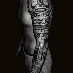 tribal tattoo brazo arm tatuajes 13depicas jaca huesca españa sleeve
