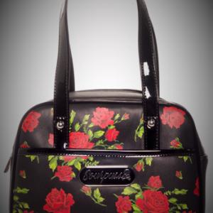 bolso rosas garden bowling 13depicas ropa moda alternativa online calaveras rosas