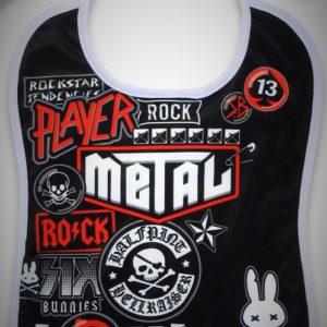 babero bib rock moda alternativa online 13depicas punk metal