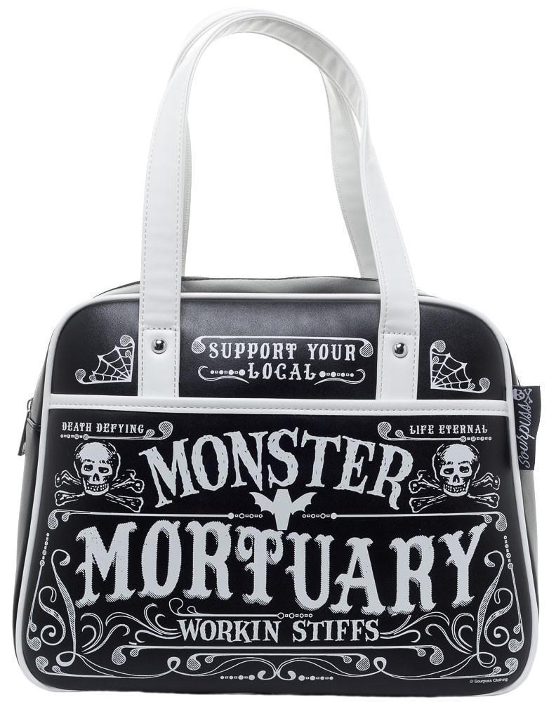bolso bowler sourpuss mortuary rock gothic pin up tattoo moda alternativa online ropa 13depicas