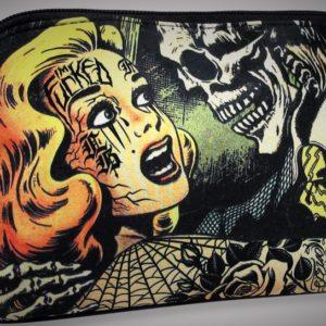 bolso neceser calavera tattoo monster moda alternativa online 13depicas cartera tatuaje