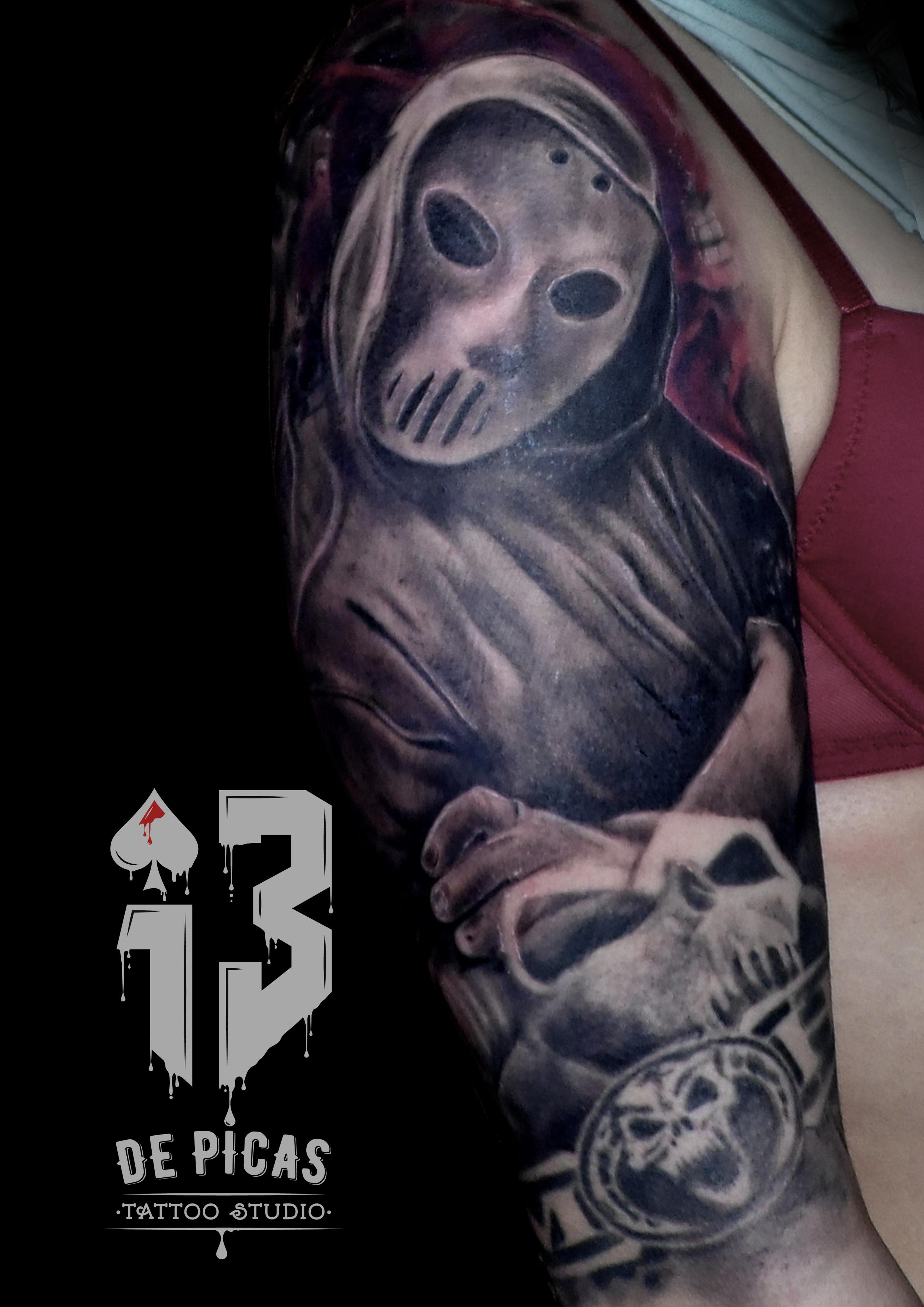 hardcore tatuaje tattoo hombro brazo 13depicas jaca huesca