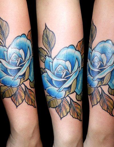 rosas color neotradicional